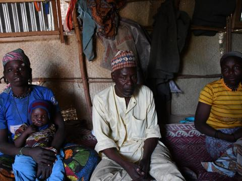 The plight of families forced to flee incessant attacks in Kwakara