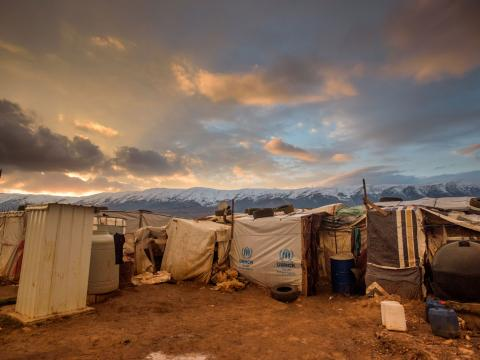 Syria Refugee Camp