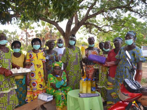 World Vision Chad supports Women Association Groups  in Mandoul.