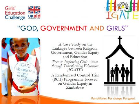 God, government and girls presentation