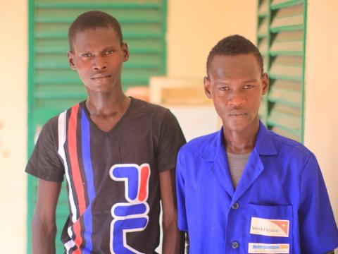 """I am happy to participate in the education of my brother Ibrahim"", said Moussa Kanta"