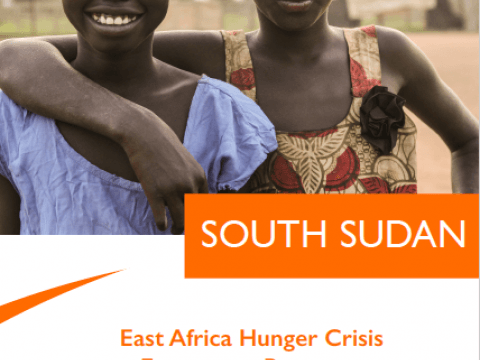 Cover page: South Sudan Appeal