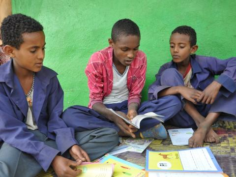 Reading Buddies help children learn to read through ...