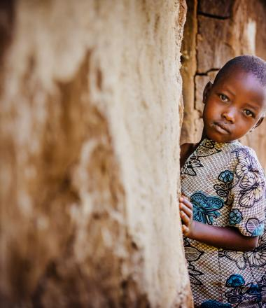 Image of child in Africa