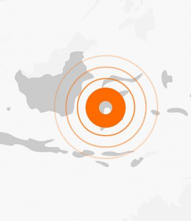 Indonesia Tsunami Emergency Map
