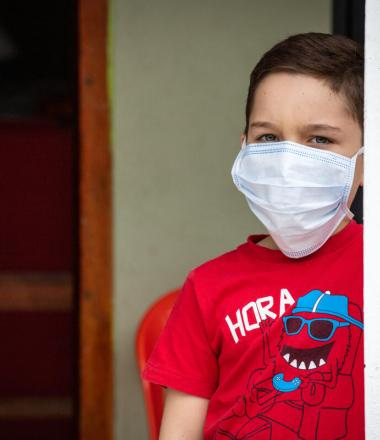 COVID-19 Emergency Response Venezuean child