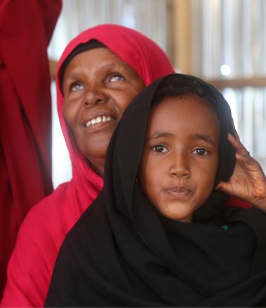 Somali child