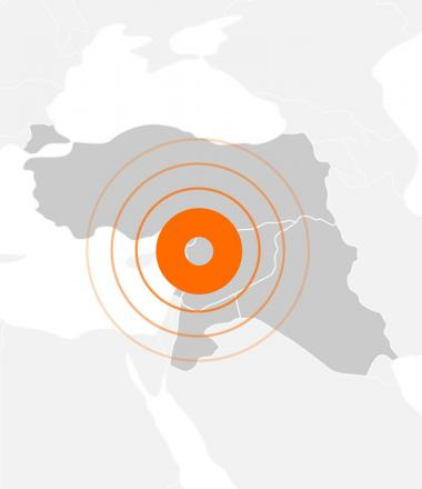 World Vision's response to the Syrian Crisis_Map of our response