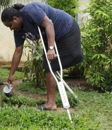 Accessing water for people with disabilities can be a challenge