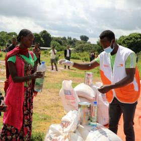 World Vision working with partners USAID