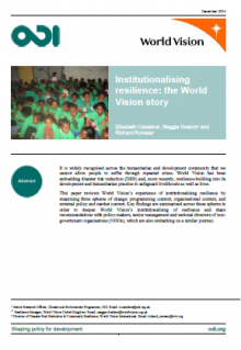 world vision aims and objectives