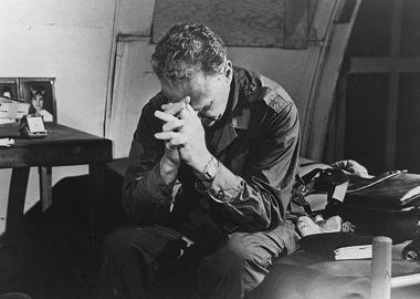 Bob Pierce Praying - 1950