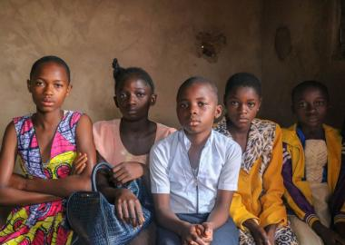 Girls at a Child Friendly Space in Kasai Central, DRC share their stories