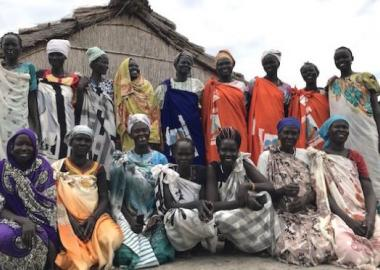 South Sudanese women on International Women's Day 2019