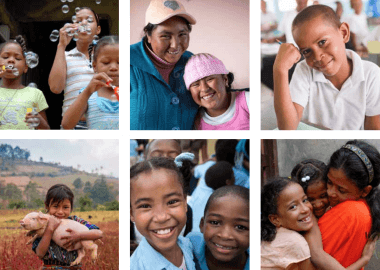 Latin America and the Caribbean Regional Campaign kids