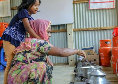 "World Vision community kitchens are the ""heart of the home"" for refugee mothers"