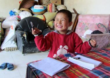 Hope for Tongtong in rural China   World Vision International