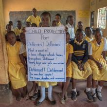 Ugandan children campaign for their rights