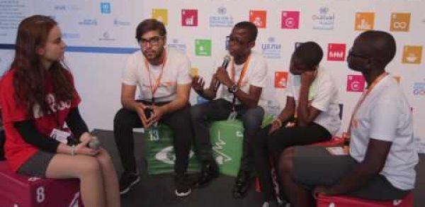 World Vision Youth Ambassadors at European Development Days, 2017