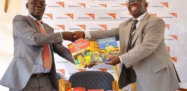 World Vision Uganda donates Shs 1.2bn worth of scholastic materials