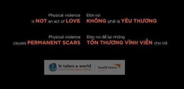Chấm dứt bạo lực thân thể trẻ em trong gia đình và trường học