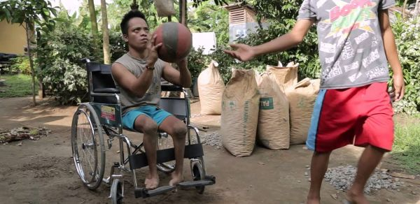 Joey's story: A wheelchair providing new hope for the future