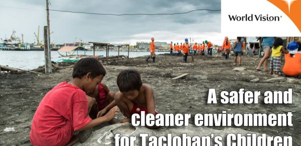 A safer and cleaner environment for Tacloban's Children/World Vision