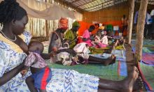 Breast Feeding No longer a challenge for refugee mothers