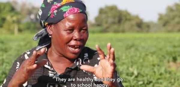 Mozambicans fight hunger through community gardens