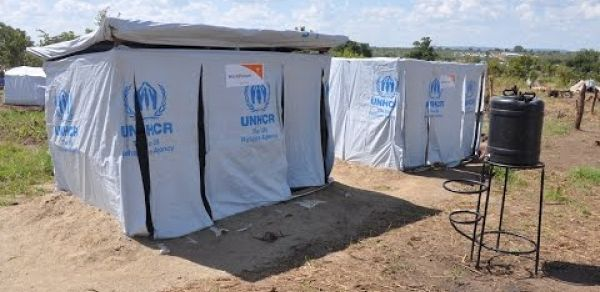Semi-Permanent latrines and bathroom shelters for new arrivals