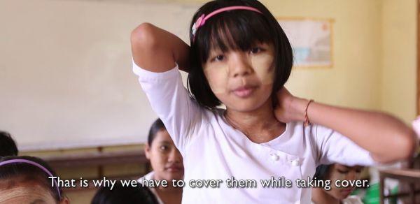 DRR Teacher Toolkit   Hlegu, Myanmar