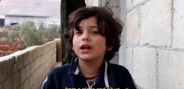 Interview with children from Aleppo