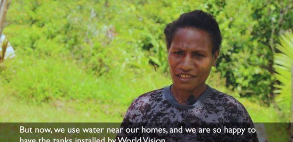 World Vision PNG Earthquake Response