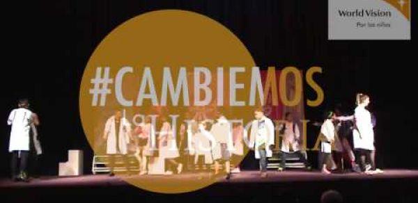 #CambiemosLaHistoria, un musical contra el bullying
