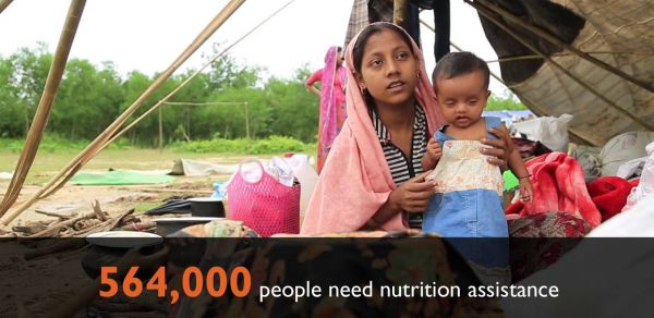 World Vision scales up response to refugee crisis in Bangladesh
