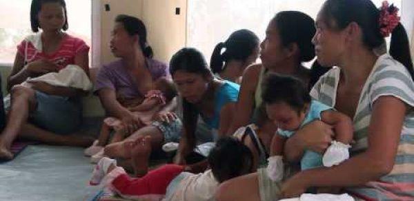 Haiyan Response: Women and Young Children Space (WaYCS) | World Vision