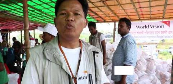 World Vision extends to 2nd phase relief to fled Myanmar Refugees.
