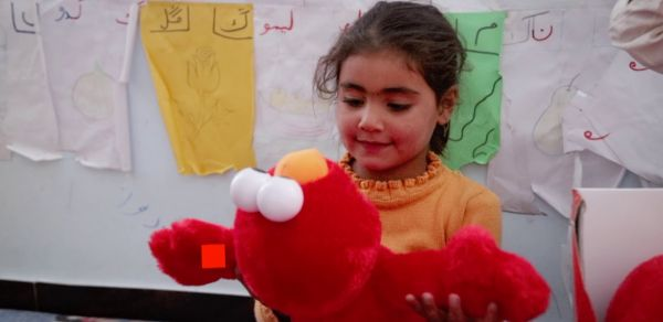 Elmo in World Vision Early Childhood Development Centres